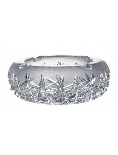 Hoarfrost kristály hamutál rövid, áttetsző kristály színű, átmérője 205 mm