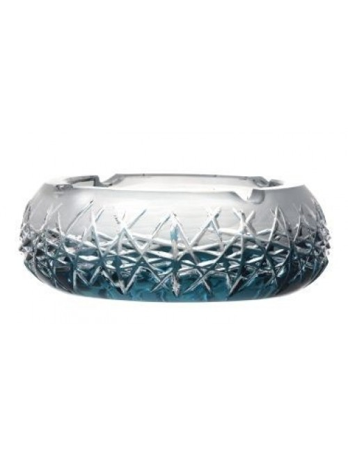 Hoarfrost kristály hamutál, azúr színű, átmérője 155 mm