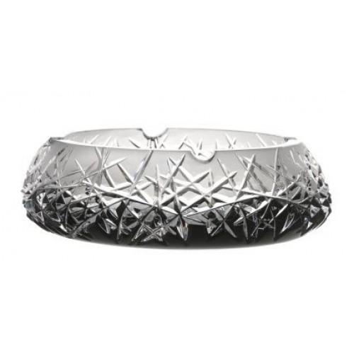 Hoarfrost kristály hamutál, fekete színű, átmérője 205 mm