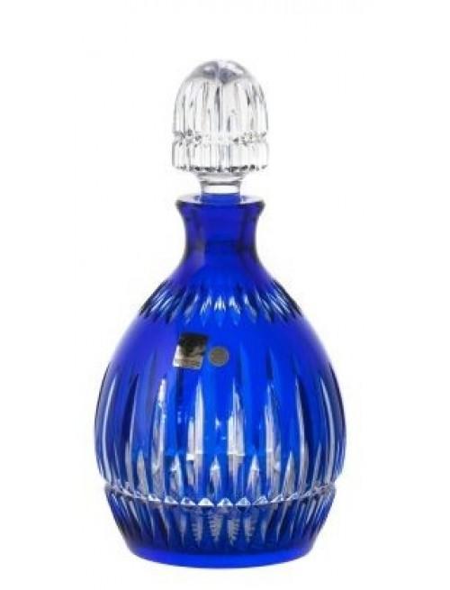 Thorn kristály díszüveg, kék színű, űrmértéke 700 ml