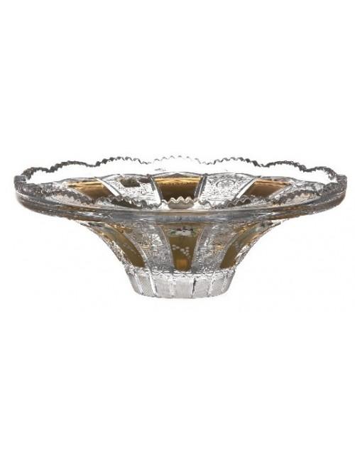 500K Arany kristálytál, áttetsző kristály színű, átmérője 255 mm