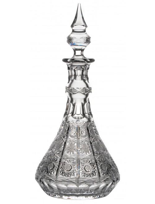 500PK kristály díszüveg, áttetsző kristály színű, űrmértéke 1300 ml