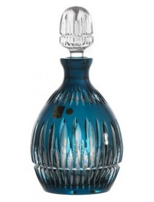 Thorn kristály díszüveg, azúr színű, űrmértéke 700 ml