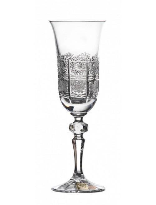 Laura kristály pezsgős pohár, áttetsző kristály színű, űrmértéke 150 ml