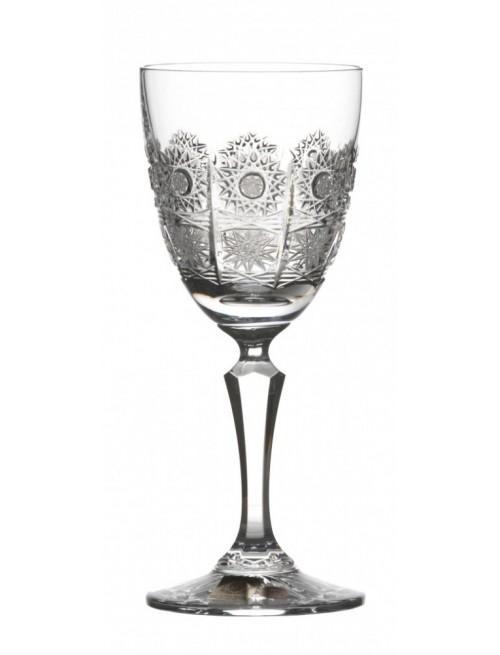 Chamberly kristály borospohár, áttetsző kristály színű, űrmértéke 170 ml