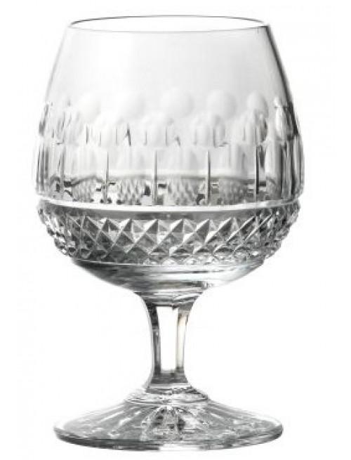 Tomy brandy kristálypohár, áttetsző kristály színű, űrmértéke 250 ml