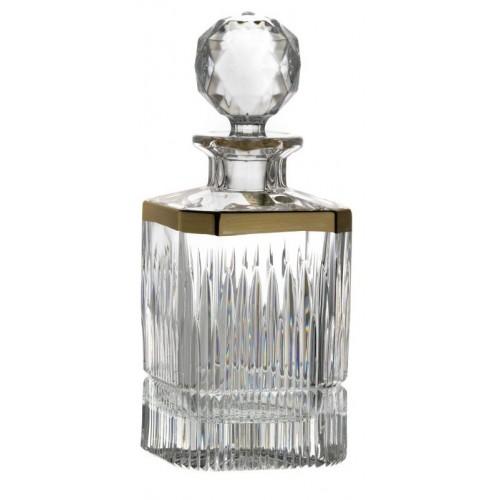 Thorn kristály díszüveg, áttetsző kristály színű, űrmértéke 800 ml