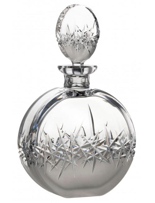 Hoarfrost kristály díszüveg, áttetsző kristály színű, űrmértéke 600 ml
