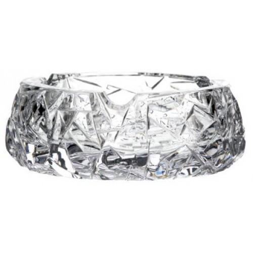 Floe kristály hamutál, áttetsző kristály színű, átmérője 150 mm