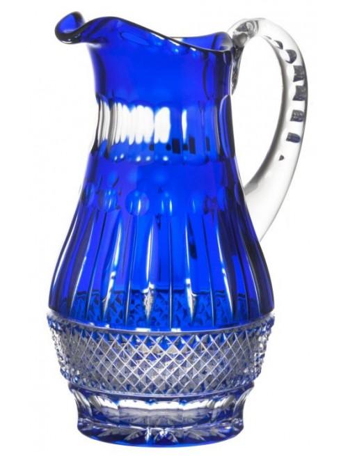 Tomy kristálykancsó, kék színű, űrmértéke 1300 ml