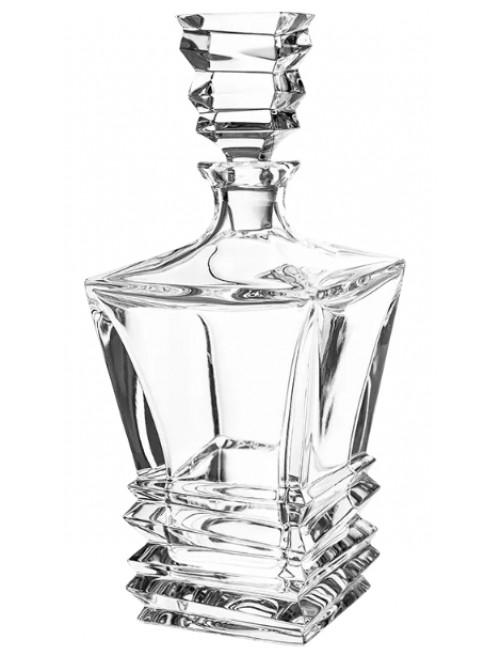 Rocky kristály díszüveg, áttetsző kristály színű, űrmértéke 850 ml