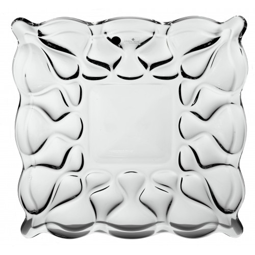 Ocean tányér, ólommentes krisztallit, átmérője 305 mm