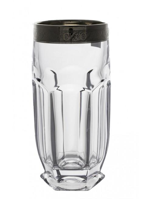 Safari platina pohár szett 6x, ólommentes krisztallit, űrmértéke 300 ml