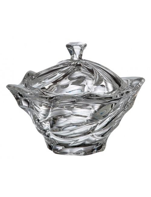 Flamenco urna, ólommentes krisztallit, átmérője 205 mm