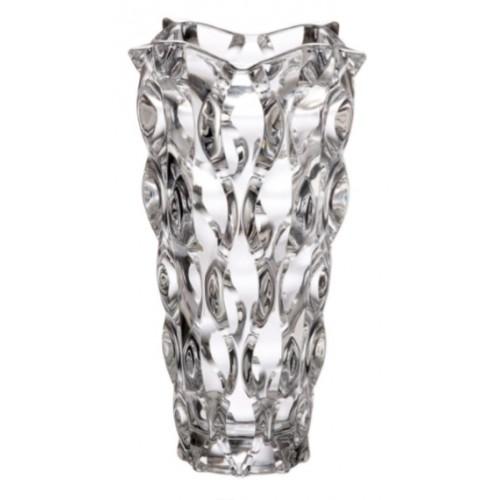 Samba váza, ólommentes krisztallit, magassága 305 mm