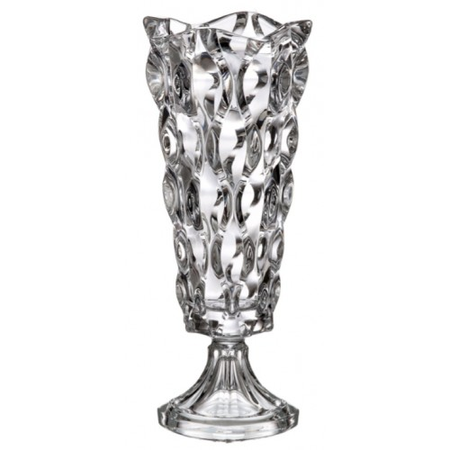 Samba váza, ólommentes krisztallit, magassága 330 mm